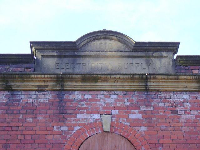 Sub Station Datestone AD1910