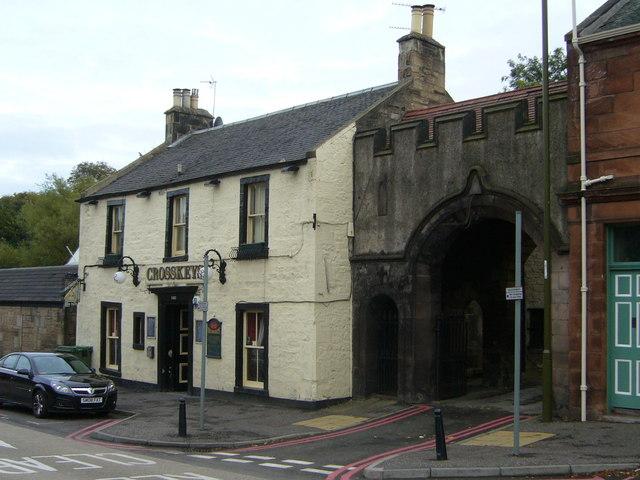 Crosskeys Inn, Slateford