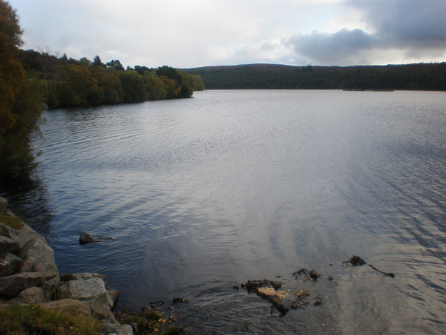 North East shore of Loch Migdale