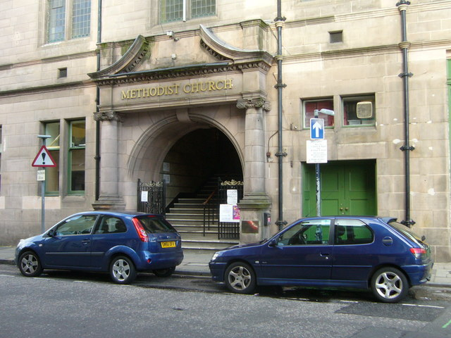 Central Hall entrance, West Tollcross