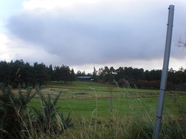 Bonar Bridge golf course near Loch Migdale