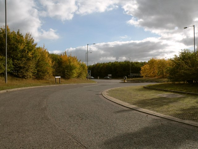 A view of the end of Field Farm Drive at Stump Cross