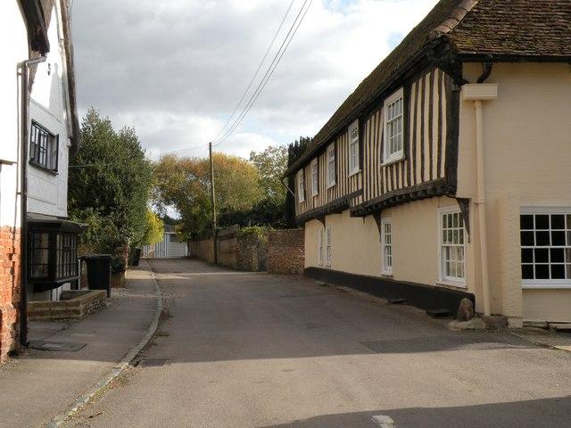 Manor Lane, looking southeast