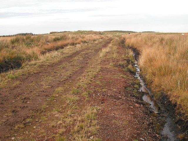 Roadway, Cobbinshaw Hill