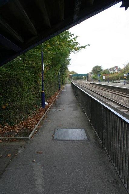 Fence on Platform 1