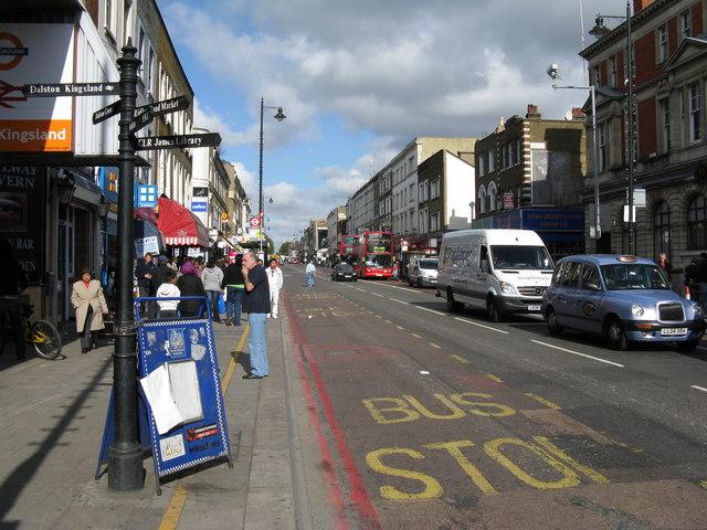 Kingsland High Street
