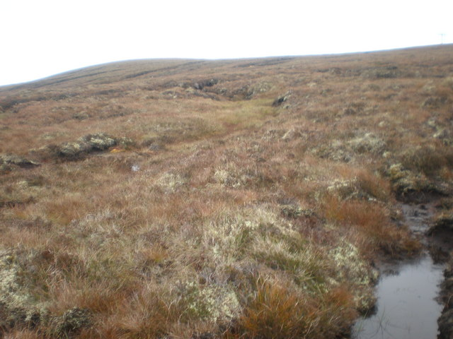 Moorland  east of Beinn nan Oighrean