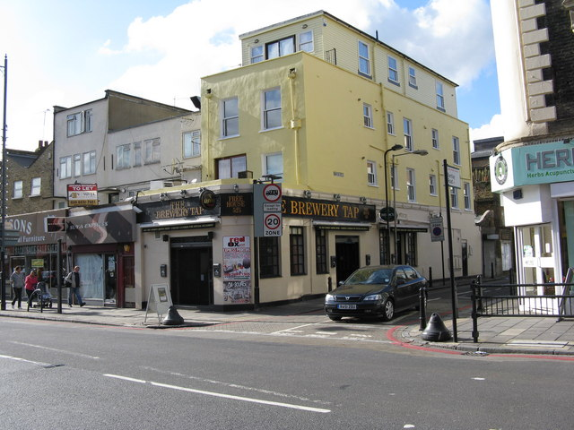 The 'Brewery Tap', Dalston