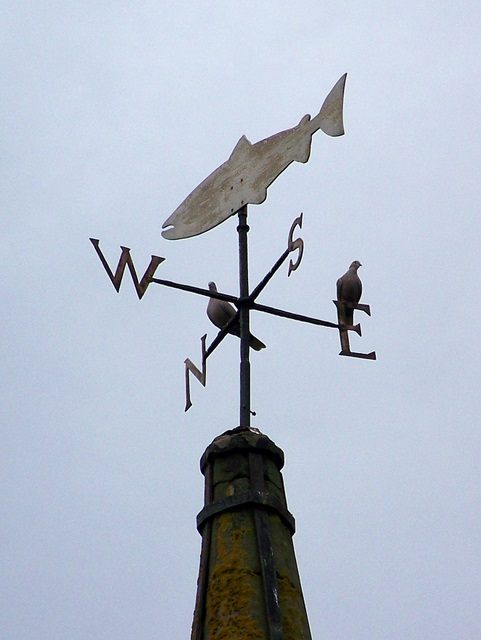 Weather vane, Glamis