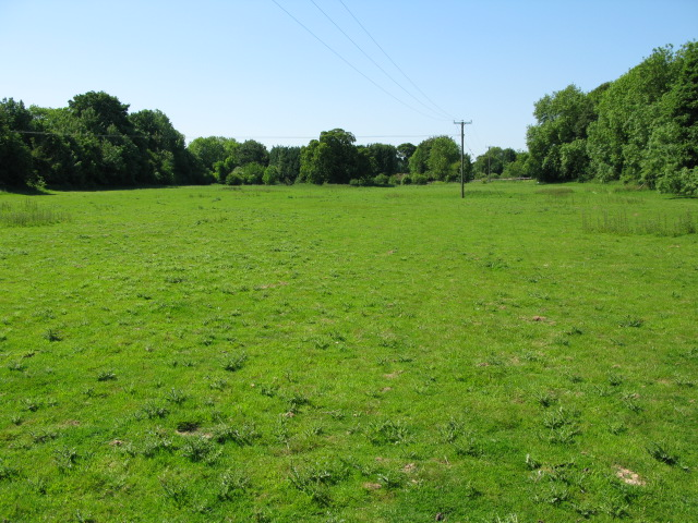 Meadow from footpath between Upper and Lower Eythorne