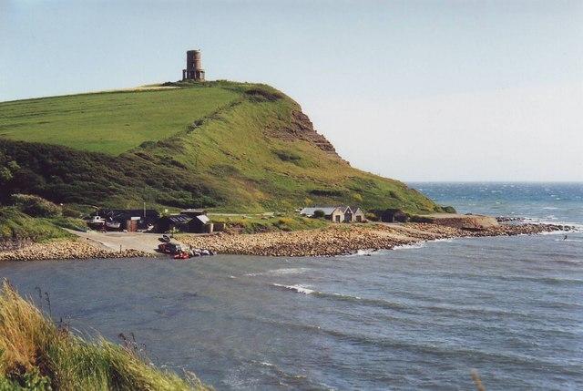 Clavell Tower across Kimmeridge Bay, Dorset