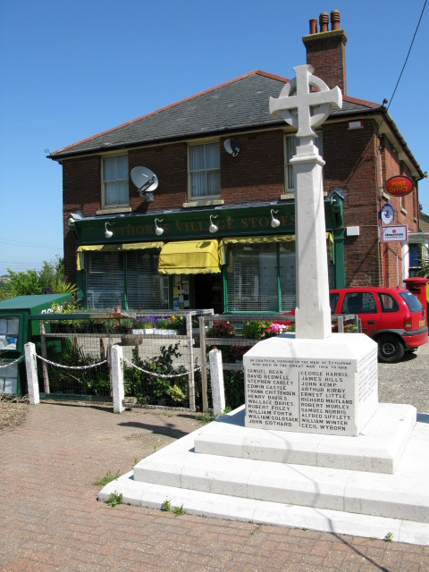 War memorial and post office, Eythorne