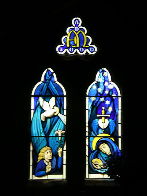 St Mary the Virgin, Carleton-in-Craven, Stained glass window