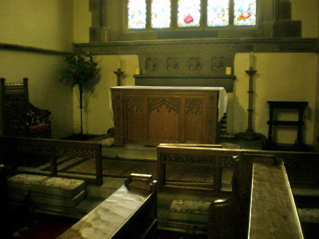 St Mary the Virgin, Carleton-in-Craven, Altar