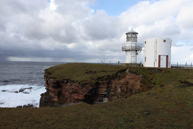 Tor Ness Lighthouse (A3600)