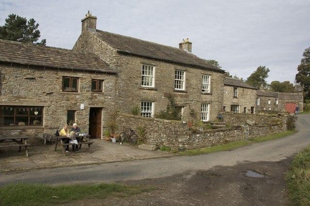 Tea room, Raydale Preserves Stalling Busk