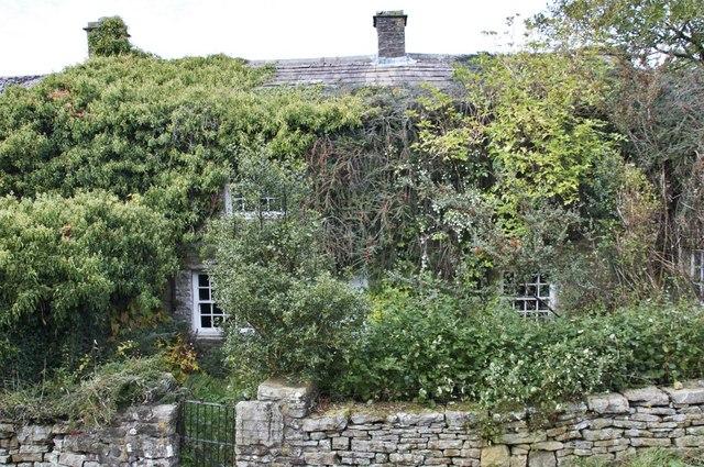 Overgrown cottage, Stalling Busk