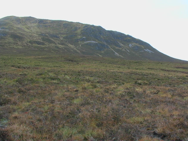 North end of Garbh Mheall near Rannoch