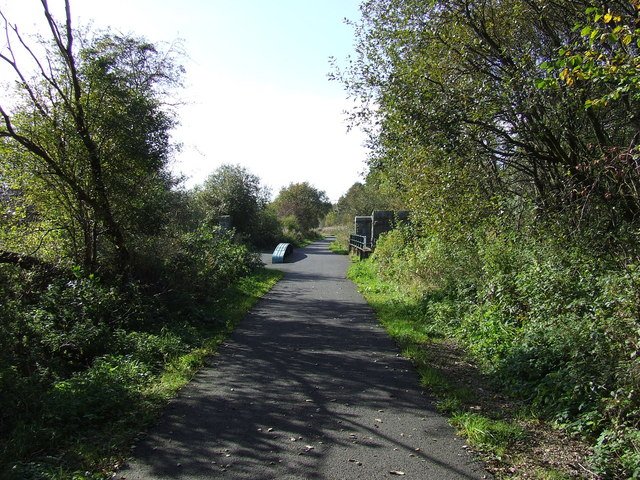 Cycleway on old Railway Bed