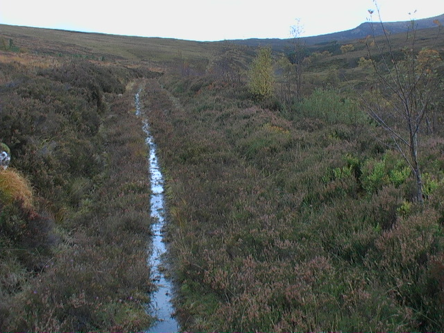 Track between Garbh Meall and Meall a' Bhobuir continuing south