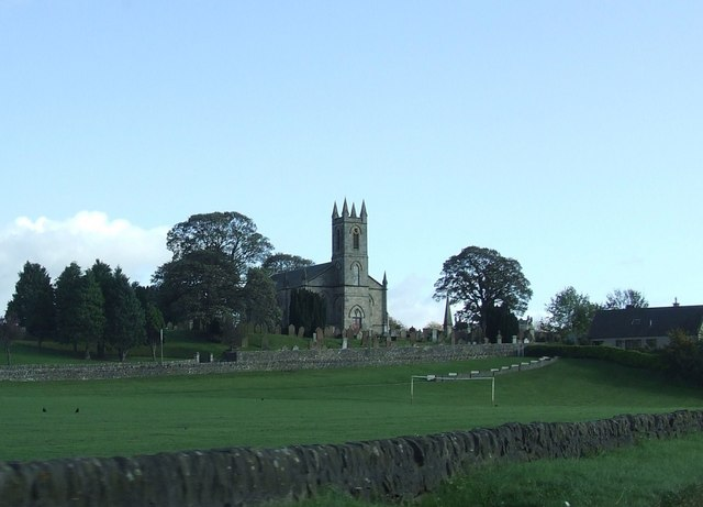 Sanquhar Church and Playing Field