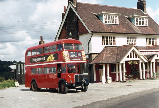 London Transport Bus RT 4728 at Lambourne End