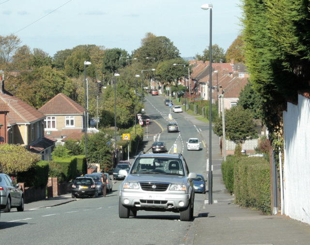 2009 : Henshaw Road leading to Hillfields Avenue
