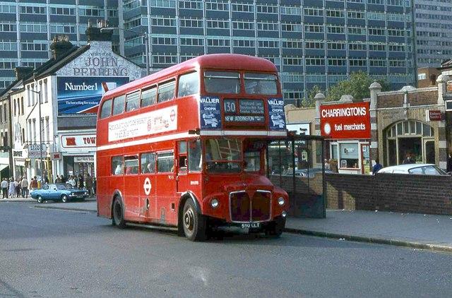 LT Bus RM 1590 at East Croydon Station