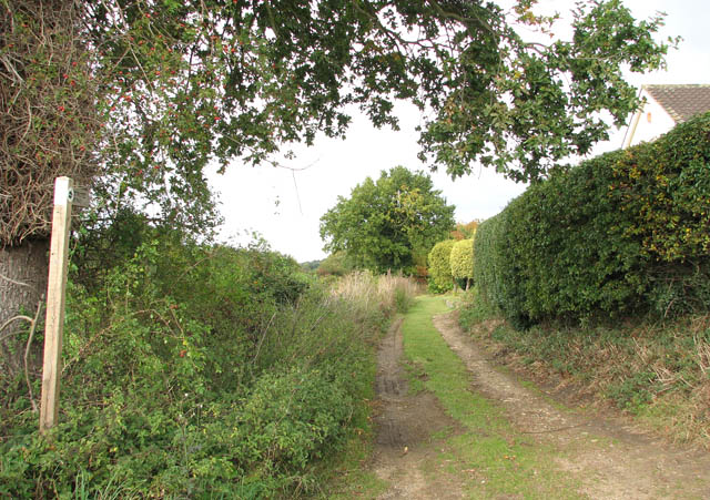 Restricted byway to Wood's End