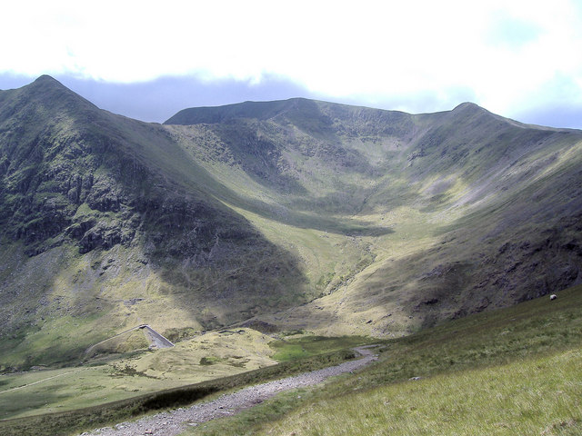 Brown Cove from Red Screes, Keppel Cove