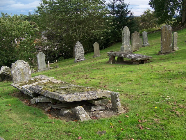 Graveyard, Kirkton of Kingoldrum