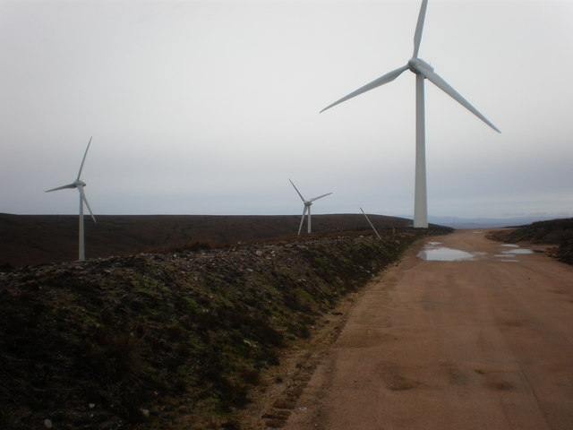 Wind Turbine 14 with 2 new ones behind it
