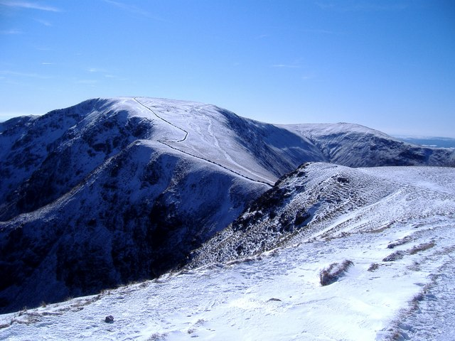 High Street from Twopenny Crag