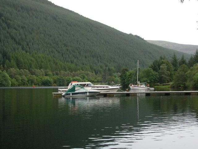 Boats on Loch Oich