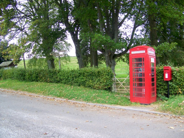 Telephone box, Bridgend of Lintrathen