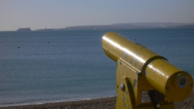 Public telescope on Hayling beach