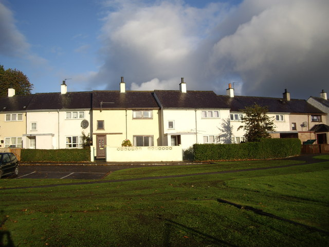 Houses in Orchard Way, Beauly