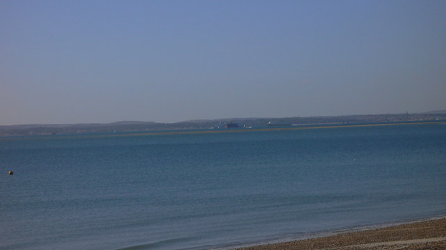 Southwest view from Hayling beach