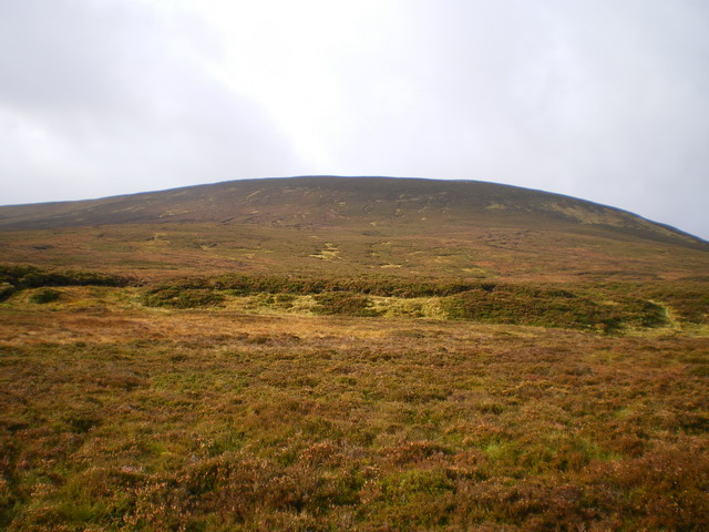 Sròn Dubh from the Tarf Water