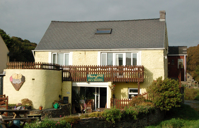 The 'Thirty Five' tearooms and B&B, Solva harbour