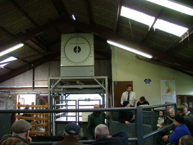 Portree cattle mart auction hall
