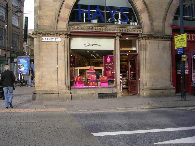 Thorntons - Market Street