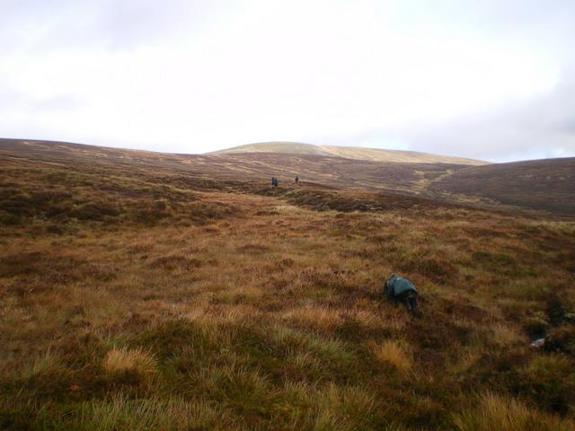 The lower slopes of Cnap a' Choire Chreagaich