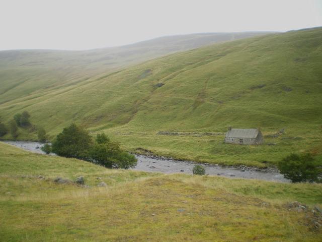 Alltandubh - an old farmsteading near Clachglas