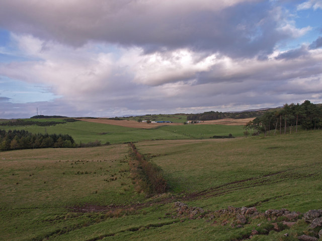 Countryside above Kilmacolm