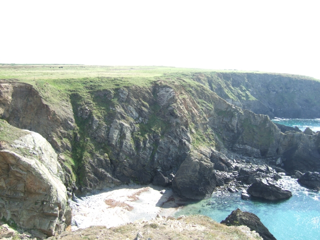 Cliffs to the east of Wooltack Point