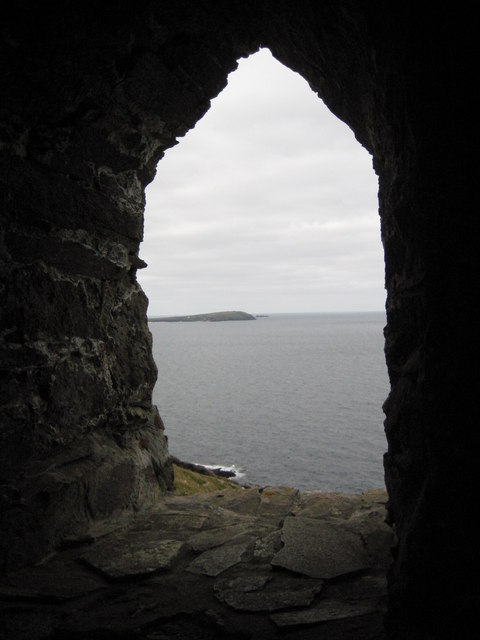 View from the tower on Stepper Point
