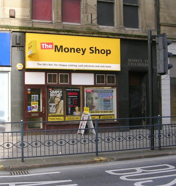The Money Shop - Market Street