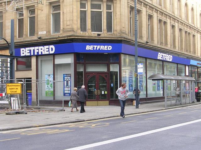 BETFRED - Market Street