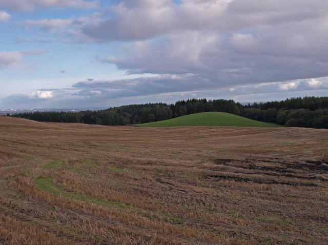 Stubble Field near Barscube
